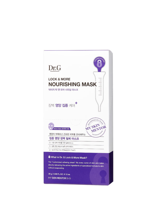 Dr.G LOCK&MORE A-CLEAR MASK1